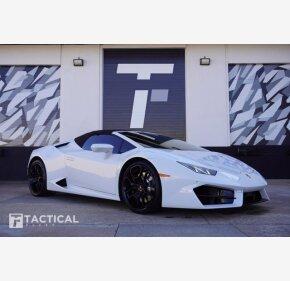 2019 Lamborghini Huracan LP 580-2 Spyder for sale 101434959