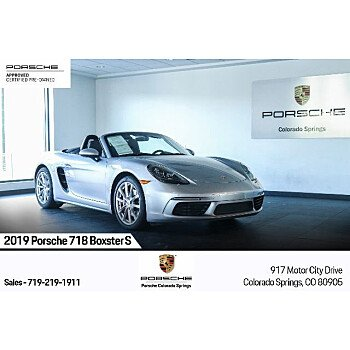 2019 Porsche 718 Boxster for sale 101394820