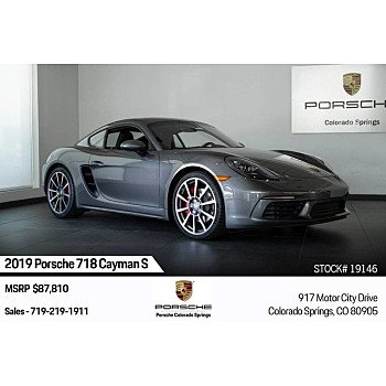 2019 Porsche 718 Cayman for sale 101209579