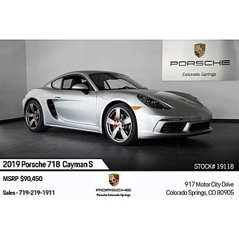 2019 Porsche 718 Cayman for sale 101209581