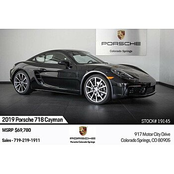 2019 Porsche 718 Cayman for sale 101209582