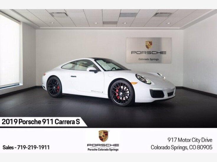 2019 Porsche 911 Carrera S for sale 101532061