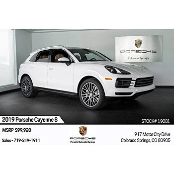 2019 Porsche Cayenne S for sale 101209569