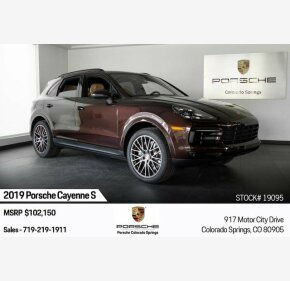 2019 Porsche Cayenne S for sale 101209588