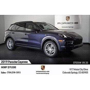 2019 Porsche Cayenne for sale 101209595