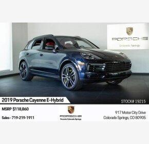 2019 Porsche Cayenne E-Hybrid for sale 101209662