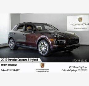 2019 Porsche Cayenne E-Hybrid for sale 101209664