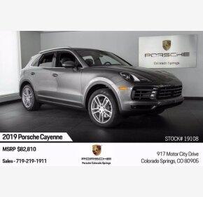 2019 Porsche Cayenne for sale 101368874