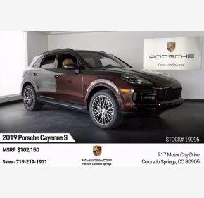 2019 Porsche Cayenne S for sale 101373097