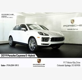2019 Porsche Cayenne E-Hybrid for sale 101375572