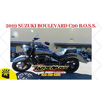 2019 Suzuki Boulevard 1500 C90 Boss for sale 200693787