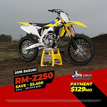 2019 Suzuki RM-Z250 for sale 200741061