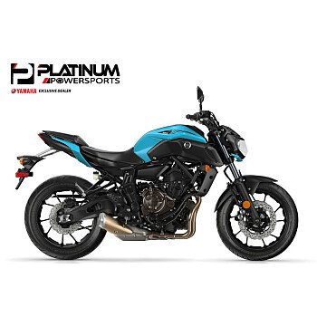 2019 Yamaha MT-07 for sale 200642595