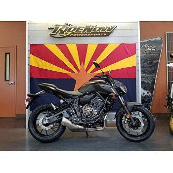 2019 Yamaha MT-07 for sale 200686725