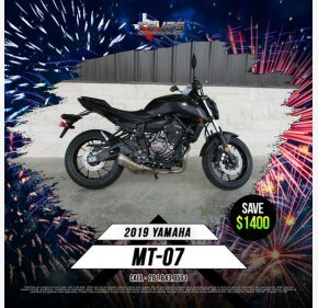 2019 Yamaha MT-07 for sale 200696204
