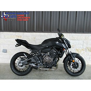2019 Yamaha MT-07 for sale 200696205