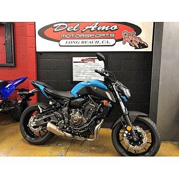 2019 Yamaha MT-07 for sale 200747761