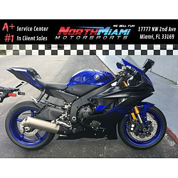 2019 Yamaha YZF-R6 for sale 200790000