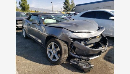 2020 Chevrolet Camaro Convertible for sale 101462459