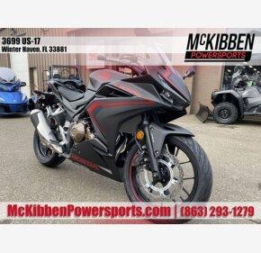2020 Honda CBR500R for sale 200933004