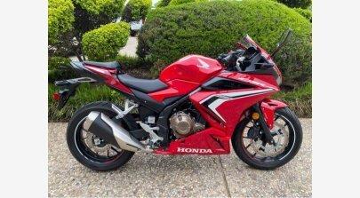 2020 Honda CBR500R ABS for sale 201076701