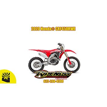 2020 Honda CRF450R for sale 200808446