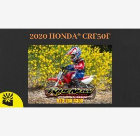 2020 Honda CRF50F for sale 200808538