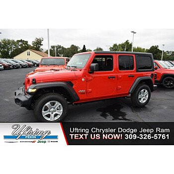 2020 Jeep Wrangler 4WD Unlimited Sport for sale 101220441