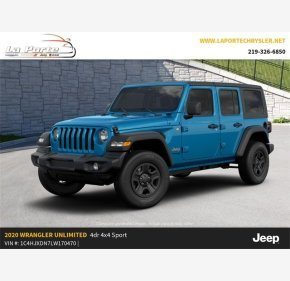 2020 Jeep Wrangler for sale 101223202