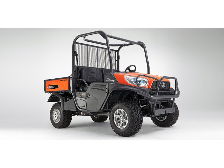 2020 Kubota RTV-X1120D Orange specifications