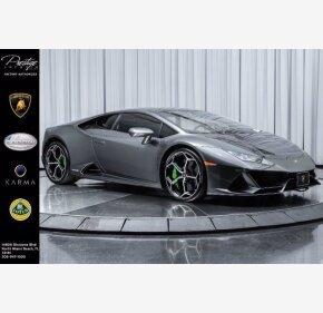 2020 Lamborghini Huracan EVO Coupe for sale 101400156