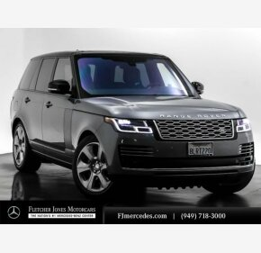 2020 Land Rover Range Rover HSE for sale 101288139