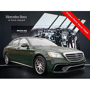 2020 Mercedes-Benz S63 AMG for sale 101397224