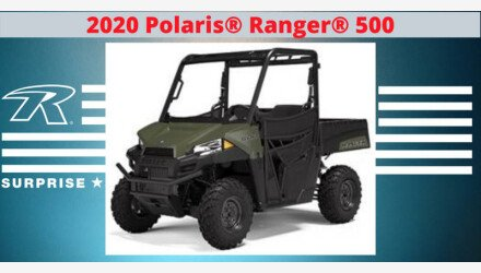 2020 Polaris Ranger 500 for sale 200850621