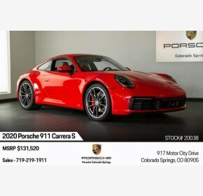2020 Porsche 911 Coupe for sale 101229513
