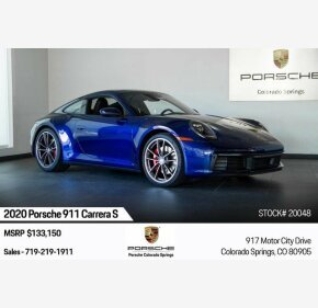 2020 Porsche 911 Coupe for sale 101236929
