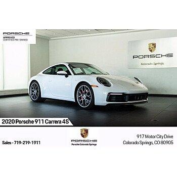 2020 Porsche 911 Carrera 4S for sale 101532048