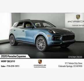 2020 Porsche Cayenne for sale 101211029