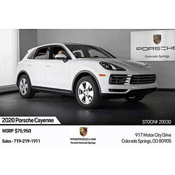 2020 Porsche Cayenne for sale 101219335