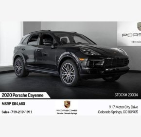 2020 Porsche Cayenne for sale 101225718