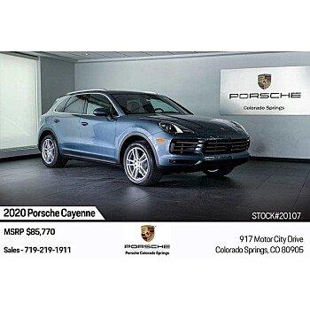 2020 Porsche Cayenne for sale 101301981