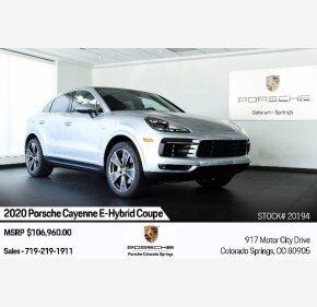 2020 Porsche Cayenne for sale 101380120