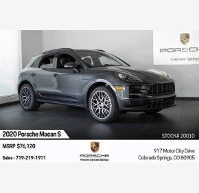 2020 Porsche Macan s for sale 101209641