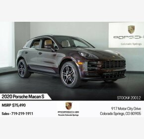 2020 Porsche Macan s for sale 101209644