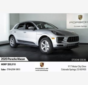 2020 Porsche Macan for sale 101229509