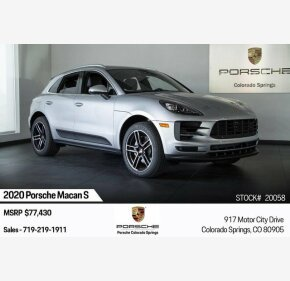 2020 Porsche Macan s for sale 101250459