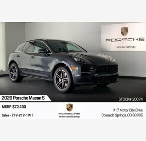 2020 Porsche Macan s for sale 101270944