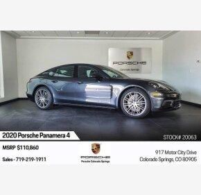 2020 Porsche Panamera for sale 101260494