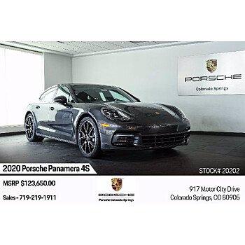 2020 Porsche Panamera for sale 101385211