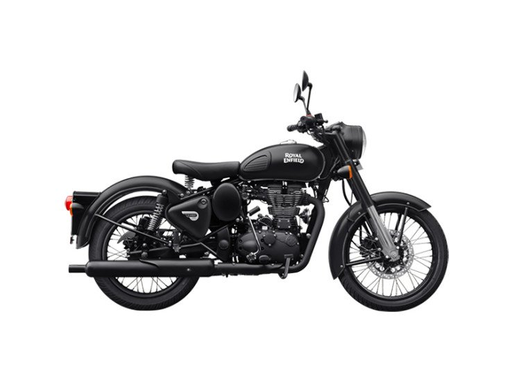 2020 Royal Enfield Classic 500 Stealth Black specifications
